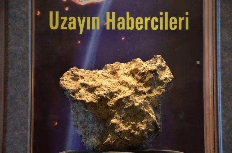İşte Türkiye'nin en büyük üçüncü göktaşı: Gerdekkaya gök taşı