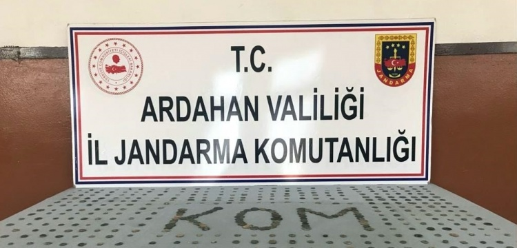 Ardahan'da kargo aracında paketlere gizlenmiş tarihi eserler yakalandı