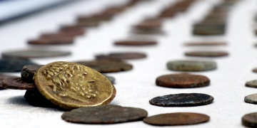 Yalovada bir kısmı bronz, bir kısmı altın 862 sikke yakalandı