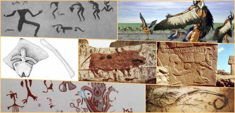 Arkeolojik bulgulara göre Anadolu'da Şamanlar onbin yıldır dans ediyor