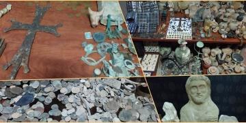 Definecilerin bulduğu tarihi eserleri satın alan 2 kişi yakalandı
