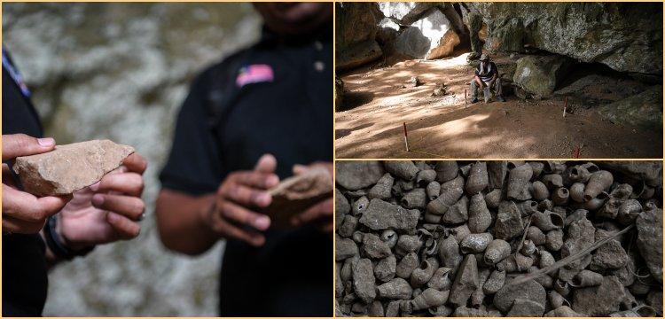 Malezya'da 17 bin yıllık taş aletler bulundu