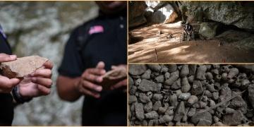 Malezyada 17 bin yıllık taş aletler bulundu