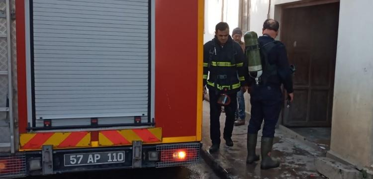 Sinop Etnografya Müzesi'nin kazan dairesi yandı