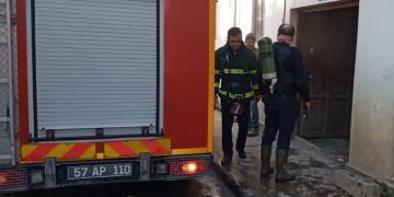 Sinop Etnografya Müzesinin kazan dairesi yandı