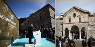 Kayserideki Meryem Ana Kilisesi Şehir Kütüphanesi olarak açıldı