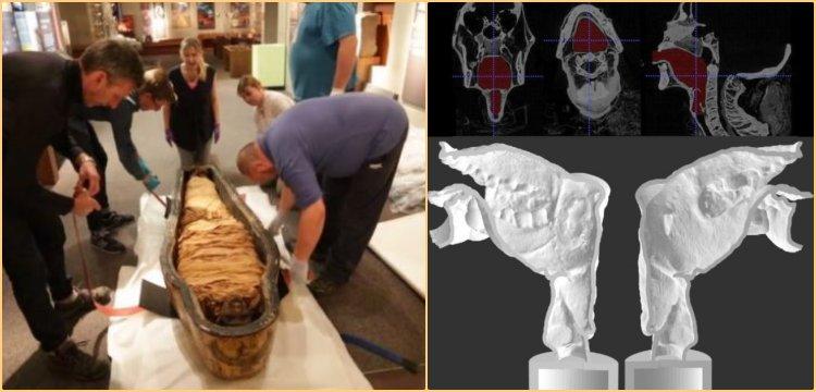Üç bin yıl önce mumyalanmış Mısırlı Rahibin sesi 'diriltildi'