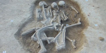 Triple burial from Copper Age found in Croatia