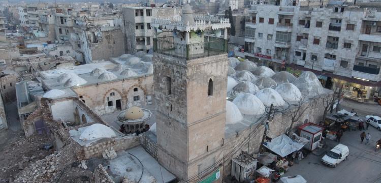 Suriye'deki El Bab Ulu Camisi restore edildi