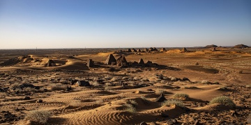 Sudan Meravi Piramitleri 2 bin yıldır keşfedilmeyi bekliyor