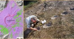 İtalyadaki Şeytan Ayak İzleri, Neandertallere ait çıktı