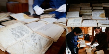 İzmirde türbeleştirilen müderrishanede 400 yıllık kitaplar bulundu
