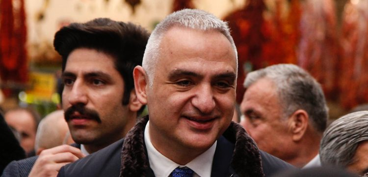 Bakan Ersoy, Türk Mutfağı Yılı nedeniyle Hatay'ı ziyaret etti