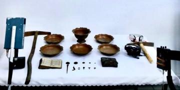Muğlada 3 kişi tarihi eserlerle yakalandı