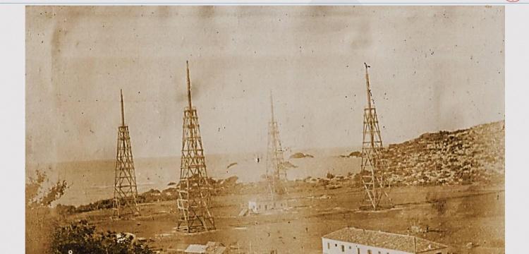 Osmanlının ilk Telsiz Telgraf İstasyonu 1906da Pataraya kuruldu