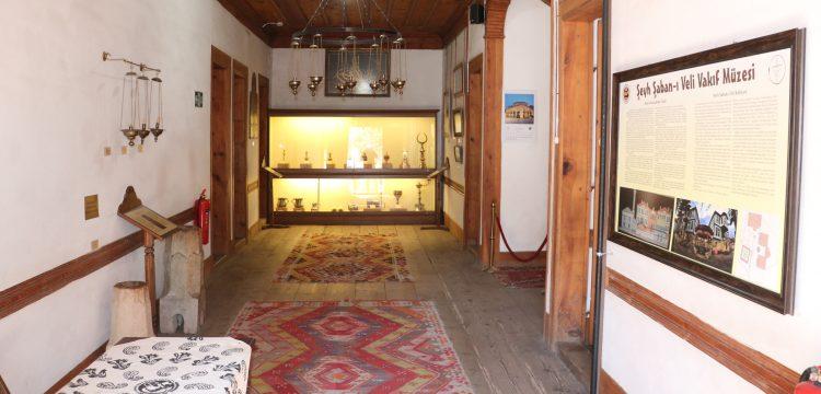 Şeyh Şaban-ı Veli Vakıf Müzesi inanç turizminin gözde mekanlarından
