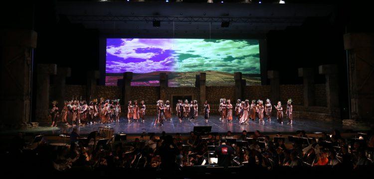 Göbeklitepe Operası dünya prömiyerini ATO Congresium'da yaptı