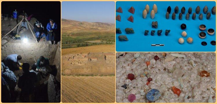 Başur Höyük'te Domuzlar ve Köpekler oyununun eksik parçaları bulundu