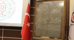 Atatürkün cephelerde kullandığı ipek sancak artık Gaziantepte