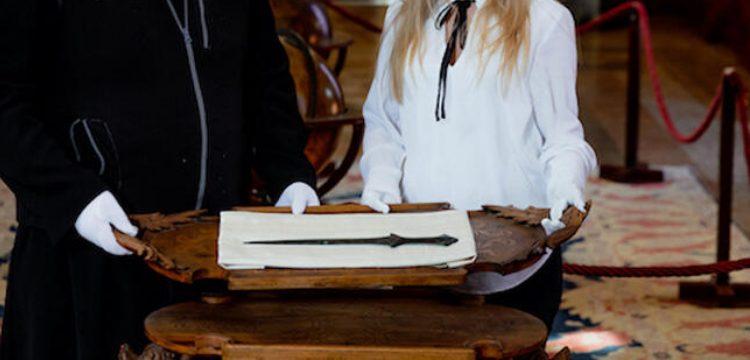 5 Bin yıllık Arslantepe kılıcı Venedik'te bir manastırda keşfedildi