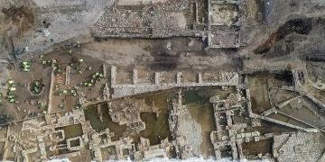 Haydarpaşa arkeoloji kazılarında T şeklinde kale sanılan yapı keşfedildi