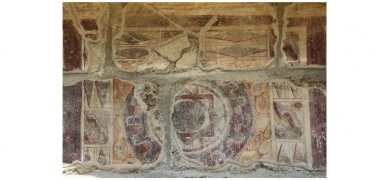 Laodikya Antik Kenti'nin 1750 yıllık freskli travertenleri Nisan ayında ziyarete açılacak