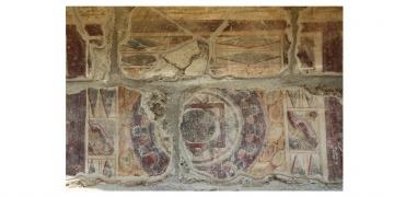 Laodikya Antik Kentinin 1750 yıllık freskli travertenleri Nisan ayında ziyarete açılacak