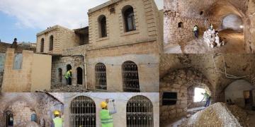 Aziz Sancarın doğduğu evin müzeye dönüştürülmesi çalışmaları sürüyor