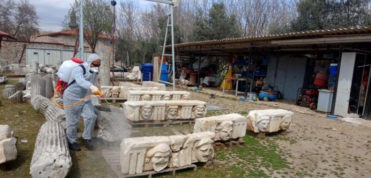 Stratonikeia Antik Kenti Dezenfekte Edildi
