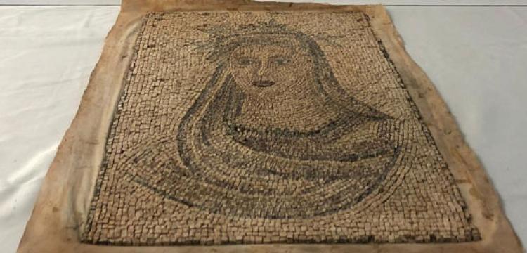 Bursa'da tarihi eser operasyonunda mozaik tablo yakalandı