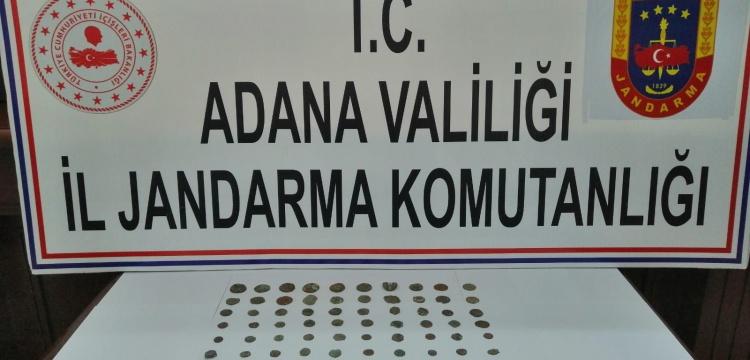 Adana'da Roma ve Bizans Dönemi Sikkeler Yakalandı
