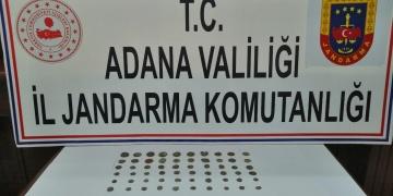 Adanada Roma ve Bizans Dönemi Sikkeler Yakalandı