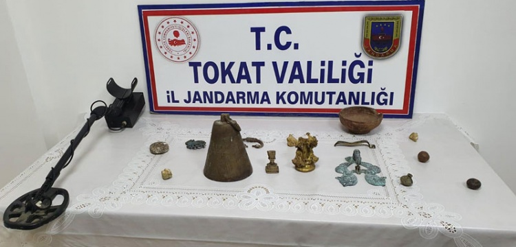 Tokat Zile'de Tarihi Eser Operasyonu