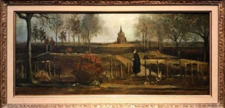 Van Gogh'a ait İlkbahar Bahçesi tablosu çalındı