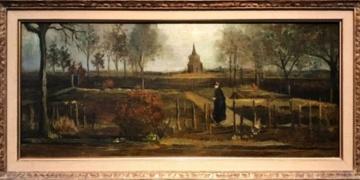 Van Gogha ait İlkbahar Bahçesi tablosu çalındı