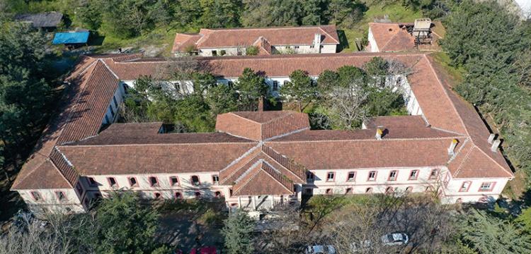 Tarihi Hastahane Restore Ediliyor