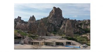 TOKİden Kapadokyanın doğal yapısına uygun dükkanlar!