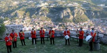 Amasyanın 156 yıllık bando geleneği
