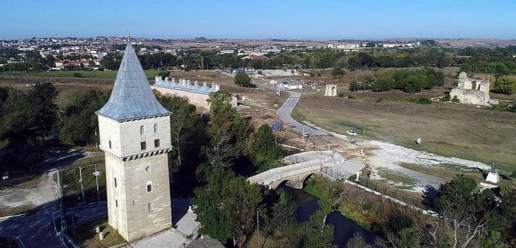 Edirne Saray-ı Cedide-i Amire'de kazılar kesintisiz yapılacak