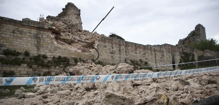 İstanbul kara sularında çökme meydana geldi