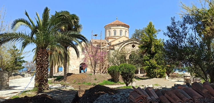 Trabzon Ayasofya Camisi'nin restorasyonu bitmek üzere