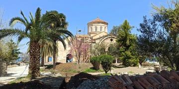 Trabzon Ayasofya Camisinin restorasyonu bitmek üzere