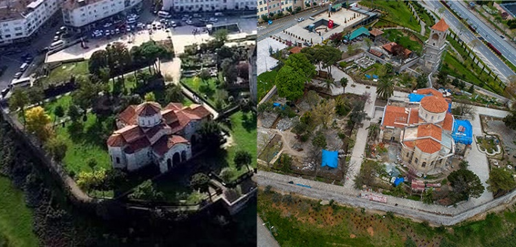 Trabzon Ayasofya Camii Restorasyonu 2017den 2020ye...
