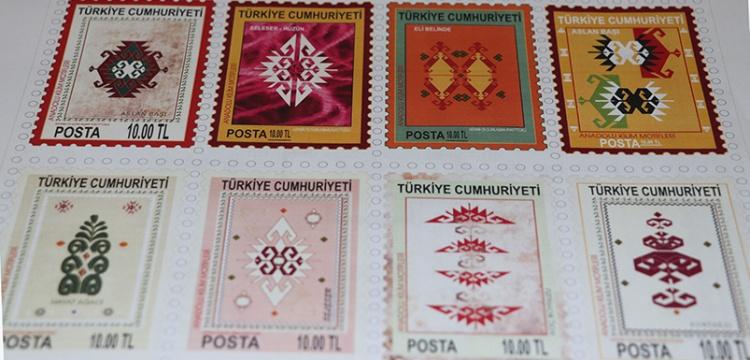 Anadolu motifleri PTT pullarına basılıyor