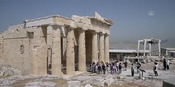 Yunanistanda arkeolojik alanlar ziyarete açıldı