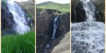 Susuz Şelalesinde bahar güzelliği