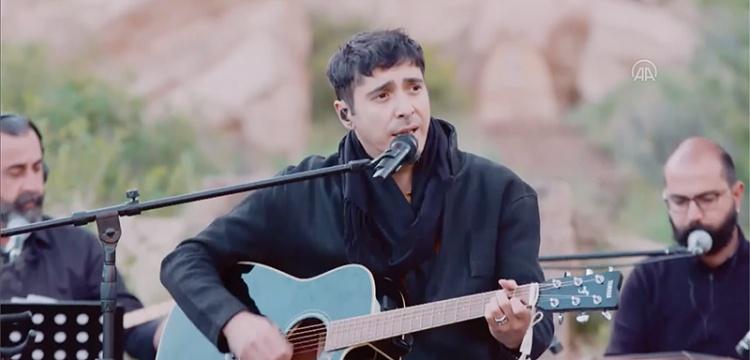 Kapadokya Açık Hava Müzesinde Ferman Akgül ve Ethnic Band konseri