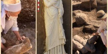 Patarada yeni heykeller bulundu