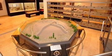Kaman Kalehöyük Arkeoloji Müzesinde Kovid-19 sessizliği