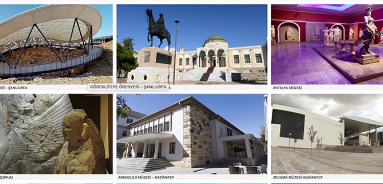 Müzeler sanal müze uygulaması ile 6 milyon kez ziyaret edildi